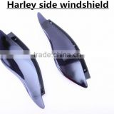 New Style ABS High quality Air Deflectors Harley side windshield For Harley Touring Street Glide Motorcycle Accessories