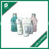 HIGH QUALITY PVC SHRINK SLEEVE LABEL FOR PLASTIC BOTTLES WITH CUSTOM PRINT