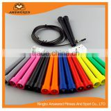 Adjustable Steel Cable Length Jump Rope Premium Quality Speed Jump Rope With Mastering Double Under