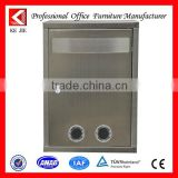 Letter boxx postbox stainless steel post box low price apartment stainless steel mailbox