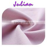 Qmilch sanding brushed fabric dress light pink polyester spandex milk fiber anti slip fabric