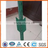 Alibaba gold supplier Cheap Galvanized/PVC coated Used Steel Fence T Post for sale (Factory)