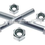 High quality strength zinc plated Bolts Nails and Nuts good price ningbo fastener suppliers manufacturers exporters