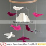 Wholesale direct from factory colorful cute felt baby mobiles