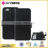 Wholesale telephone wallet case cover for apple iphone 6 made in China