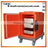 keep food warm type insulated by PU foam thermal meal preserve cabinet catering and restaurant equipment                                                                         Quality Choice