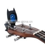 Portable LCD Clip On Chromatic Guitar Tuner Bass Violin Ukulele tuner Fashionable cool Bat digital