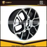 ZUMBO F1569-Black Machine Face 15/17/18/20 Inch Suitable For VW Car Alloy Wheel Rims                                                                         Quality Choice