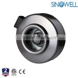 Professional Manufacturer SINOWELL Hydroponics Centrifugal In line Duct Fan