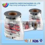 plastic packing food film laminated ice pop packaging bags on roll                                                                         Quality Choice