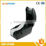 sticker barcode thermal label portable printer with bluetooth