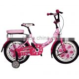 "16"" girl pink Kid's bike good quality hot sale"