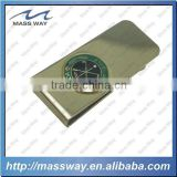 hot sale watch metal paper custom wholesale gold money clip holder