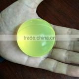 White High resilience 50mm diameter 75A hardness casting solid polyurethane shaking screen ball