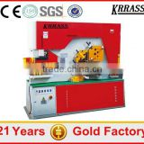 Q35Y-30 power press and cutting machine , aluminum plate ironworker , hydraulic universal ironworker price