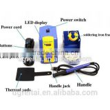 HAKKO FX-951 Lead Free Soldering Station Welding Station Kit with T12-BL Soldering Tip and ESD-16 Tweezers