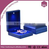 Wholesale LED Jewellery Pendant Box & Plastic Gift Box With Led Light For Pendant (WH-3217-PD-blue)