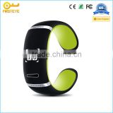 2015 Hot L12S silicone bracelet with pedometer for kids/calorie cincoming call /sleep monitor/distance tracker
