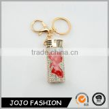 Rhinestone Fashion Sexy Girl Custom Lighter Metal Keychain Manufacturers in China for Gifts