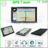 FM support HD 800*480 MTK MSB2531 800MHZ car gps navigation analog with romania map