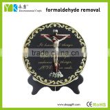 Religious jesus stations of the cross Christ activated carbon carving craft for table decoration,home decor