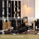Stainless Steel Foot Cabinet-JB11-22 Bedroom Wine Cabinet- JL&C Luxury Home Furniture