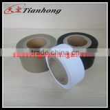white flexible duct PVC film black good Anti-fouling ability PVC tape used for air ventilation ducts