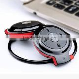 New 2016 Mini-503 Wireless Stereo Bluetooth Headphone Headset Neckband Style Earphone for iPhone Nokia HTC Samsung LG Cellphones