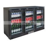 Back Bar fridge / display beer cooler / beer bottle refrigerator / bar fridge