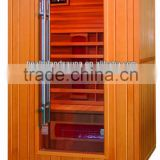 luxury type infrared sauna room weight loss led light therapy