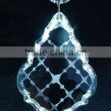 Crystal Hanging decoration,crystal leaves beads for home or christmas decor