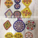 Wholesale lots multi color kuchi Afghani gypsy banjara medallions beads embroidery patches