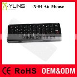 2.4Ghz wireless mini keyboard Gyroscope air mouse fly mouse original factory OEM