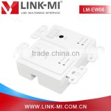 China Supplier LM-EW06 50m HDMI Extender Wallplate Over Cat5e/6 Following North American Wall Plate Standard