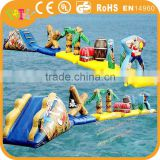 Factory price wholesale high quality inflatable water park games with 0.9mm pvc tarpaulin for water fun