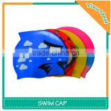 Fish Shaped Ear Protection Silicone Baby Swim Cap
