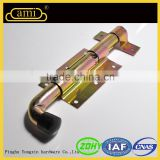 iron material zinc plated wooden sliding door latch types for garden fence