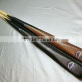 Classy complete one-pc snooker cue ash wood handmade snooker cue stick for sale 57inch