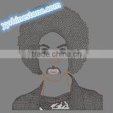 Prince custom rhinestone transfer wholesale #3
