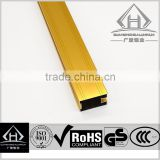 Square edge aluminium profile price for window& door