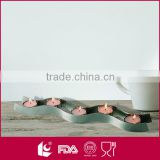 High quality 5pcs candle holder insert metal holders