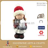 17 Inch Polyresin Chinese Supplies Christmas Decoration Small Gift Item Snowman Figurines Ornaments