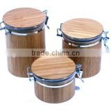 bamboo canisters, bamboo jars & containers, storage box wholesale