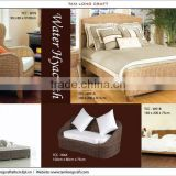WATER HYACINTH BED, BEDROOM FURNITURE REST USEFUL