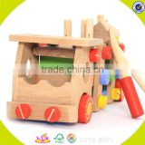 2017 wholesale baby wooden screw toy fashion kids wooden screw toy popular children wooden screw toy W03C024