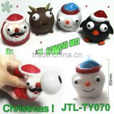 Vinyl Christmas Squeeze Toy With Pop Out Eyes