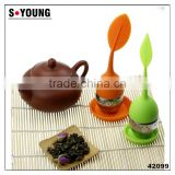 42099 high quality silicone wire mesh filter tea ball,ss tea infuser tea strainer