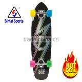 OEM design colorful wheels maple board complete for New Year