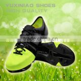 team sport competition football shoes have spike for men and women or children to play soccer ball