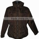 2014 European Style Waterproof Men's Winter Jackets With Stand Collar Hoodless OEM